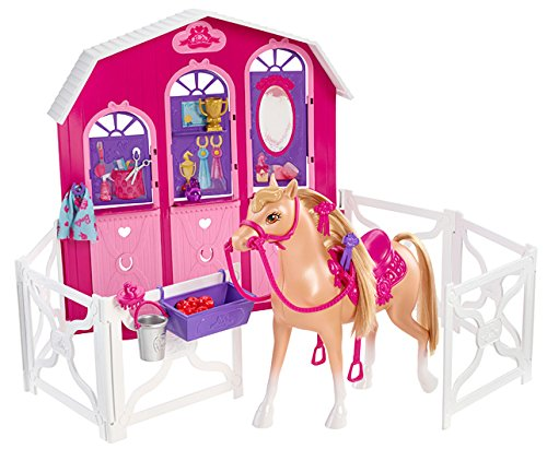 Barbie Sisters Pony Stable Playset