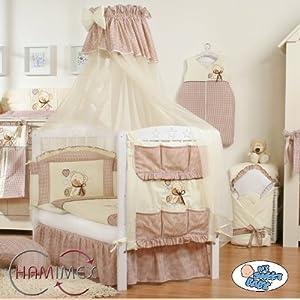 Hamimex My Sweet Baby Kinderbett Gitterbett 18 Teile  weiß  BabyKundenbewertung und weitere Informationen