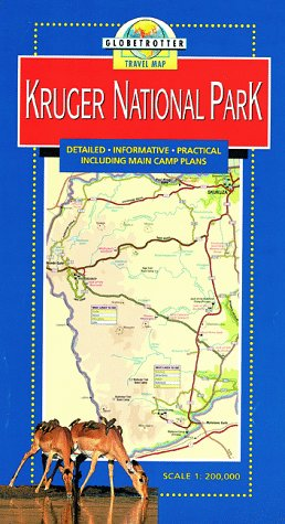 Kruger National Park Travel Map PDF