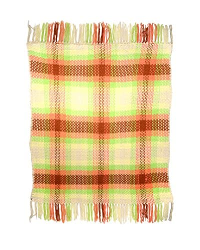 Uptown Down Previously Owned Fringed Knit Throw