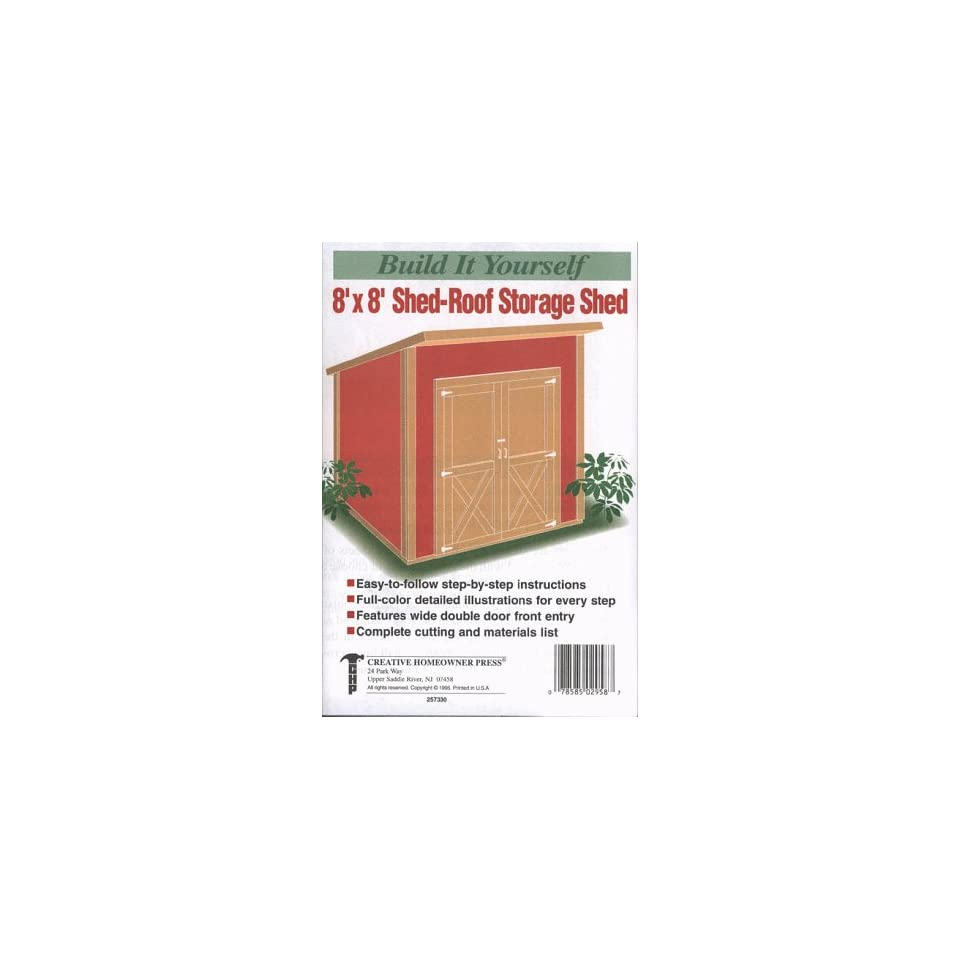 MTUzMzc2MTQ0/Amazoncom-Build-It-Yourself-8-x-8-ShedRoof-Storage-Shed