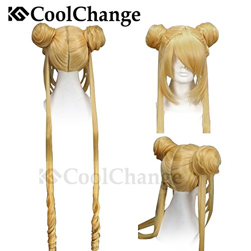 CoolChange Hochwertige Sailor Moon Perücke