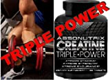 516HHaZkPQL. SL160  Absonutrix Creatine Triple Power 5000mg   120 Tablets Xtreme Stamina   Xtreme Strength   Xtreme Endurance