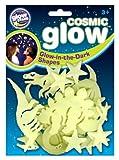 The Original Glow Stars Company Cosmic Glow Dinosaurs von Brainstorm