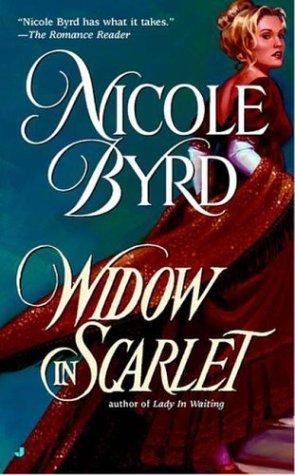 Widow in Scarlet (Berkley Sensation), NICOLE BYRD