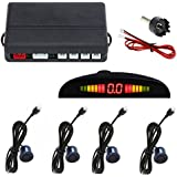 NEW 4 Parking Sensors LED Display Car Reverse Backup Radar System