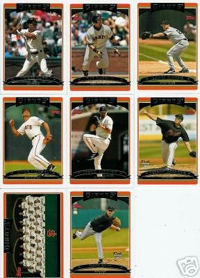 2006 Topps San Francisco Giants Baseball Cards Complete Team Set (22 cards) - Includes Barry Bonds and more! - Buy 2006 Topps San Francisco Giants Baseball Cards Complete Team Set (22 cards) - Includes Barry Bonds and more! - Purchase 2006 Topps San Francisco Giants Baseball Cards Complete Team Set (22 cards) - Includes Barry Bonds and more! (Topps, Toys & Games,Categories,Games,Card Games,Collectible Trading Card Games)