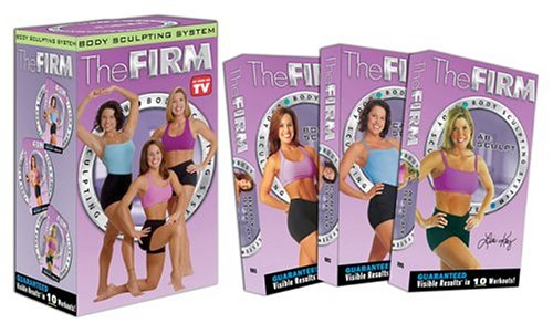 THE FIRM - Body Sculpting System (3 Pack) [VHS] the firm