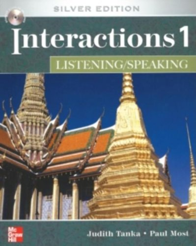 Interactions Level 1 Listening/Speaking Student Book plus...