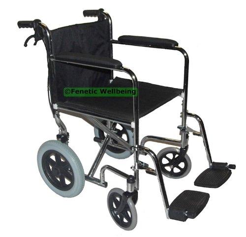 Elite Care Leichte Falte Rollstuhl mit Bremsen - ein gutes Preis-