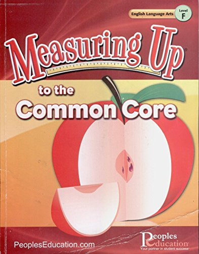 Measuring up to the Common Core, Level F