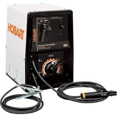 - Hobart Stickmate LX235 AC/DC 230V Arc Welder/Stick Welder - 225 Amp AC Output, 150 Amp DC Output, Model# 500421