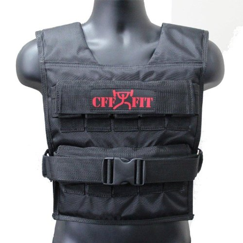 CFF Adjustable Weighted Vest (Shell Only) - Holds Up To 44lbs