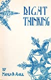 img - for Right Thinking: The Royal Road to Health book / textbook / text book