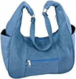 Miles Kimball Denim Hobo Handbag