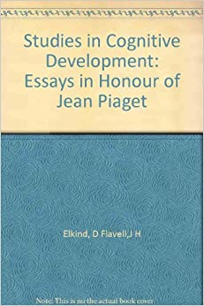 Piaget Stages Cognitive Development Theory