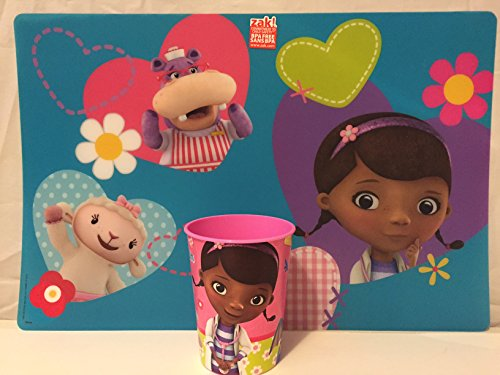 Doc McStuffins Placemat AND Doc McStuffins Cup