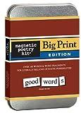 Big Print Edition: Magnetic Poetry Kit