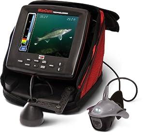MarCum LX-9 Digital Sonar Camera System LCD Dual Beam with OSD Camera (8-Inch) by MarCum
