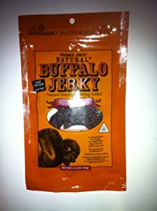 Trader Joes Natural Buffalo Jerky Sweet Spicy Flavor 35 Oz