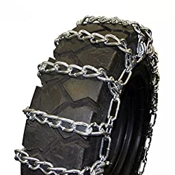 Quality Chain Round Twist 8mm Skid Steer Link Tire Chains (2-Link Spacing) (1501-2)