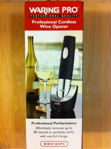 Waring Pro WWO100PC Professional Cordless Wine Opener