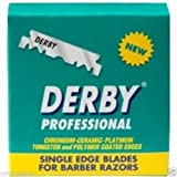 100 x DERBY PROFESSIONAL SINGLE EDGE RAZOR BLADES (1 BOX) ***FREE UK DELIVERY***
