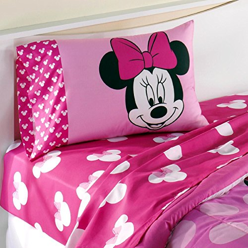 For Sale! Disney Minnie Mouse Full Size Sheets Set