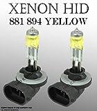 881, 862, 886, 894, 896, 898 37.5W Fog Light Xenon HID Stock Yellow Bulbs