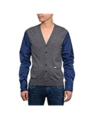 DSQUARED2 Men's Grey Wool Vest
