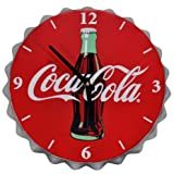 Mark Feldstein Coca Cola Bottle Cap Clock