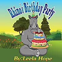 Childrens Book:rhino's Birthday Party by Leela hope ebook deal
