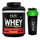 INLIFE Whey Protein 5Lb (Vanilla Flavour) With Free Shaker