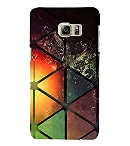 PRINTVISA Abstract Modern Art Case Cover for SAMSUNG GALAXY NOTE 6