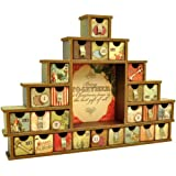 Kaisercraft Beyond The Page MDF Shadow Box with Drawers Advent Calendar, 14.5 by 12 by 2-Inch