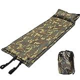 cocomohouce(ココモハウス) 自動膨張式 エアマット 収納袋付 キャンピングマット 寝袋マット エアーマット テント アウトドア レジャー 車中泊