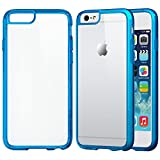 iPhone 6 Case, LUVVITT® CLEARVIEW iPhone Air Case / 4.7 inch Screen | Scratch-Resistant Transparent Slim Back Cover with Bumper | Clear View (Does NOT fit iPhone 5 5S 5C 4 4s or iPhone 6L 5.5 inch screen) – Clear / Transparent Blue Reviews