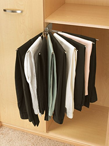 Rev-A-Shelf - CPRF-16CR-52 - Wire Fan Pants Rack