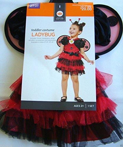 Tutu Ladybug Costume ~ Size 2T / 3T (Ladybug Tutu Costume)
