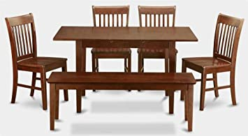 6-Pc Wooden Dining Set