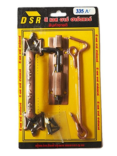 Door Locking Kit with Handle, Latch, Hinge and Screw for install are in this set. (Rope Seal Puller compare prices)