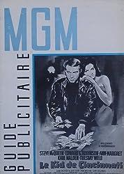 Steve McQueen & Ann-Margret French Press Book For The Cincinnati Kid