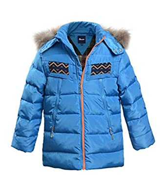 Amazon.com: Hiheart Winter Jacket Boys Parkas Hooded Duck