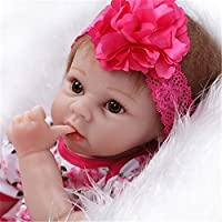 Sany Doll Reborn Baby Doll Soft Silicone Vinyl 22inch 55cm Lovely Lifelike Cute Baby Boy Girl Toy Beautiful Princess...
