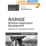 Android Wireless Application Development Volume II: Advanced Topics (3rd Edition) (Developer's Library)