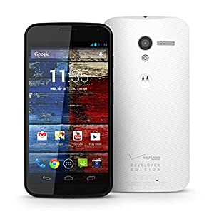 Motorola Moto X 32GB Developer Editon, 4G LTE, Black/Woven White for Verizon/PagePlus