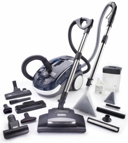 Rotho Twin Tt Water Filtration Hepa Canister Vacuum