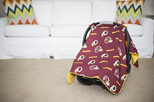 carseat canopy washington redskins baby infant car seat. Black Bedroom Furniture Sets. Home Design Ideas