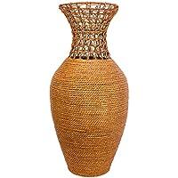 ARTELIER Polyresin Jute Vase (61 Cm X 22 Cm X 61 Cm, ID-3Y-F-710-61)