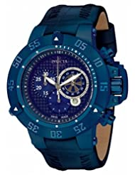 Invicta Men's 10203 Subaqua Noma III Chronograph Blue Dial Watch